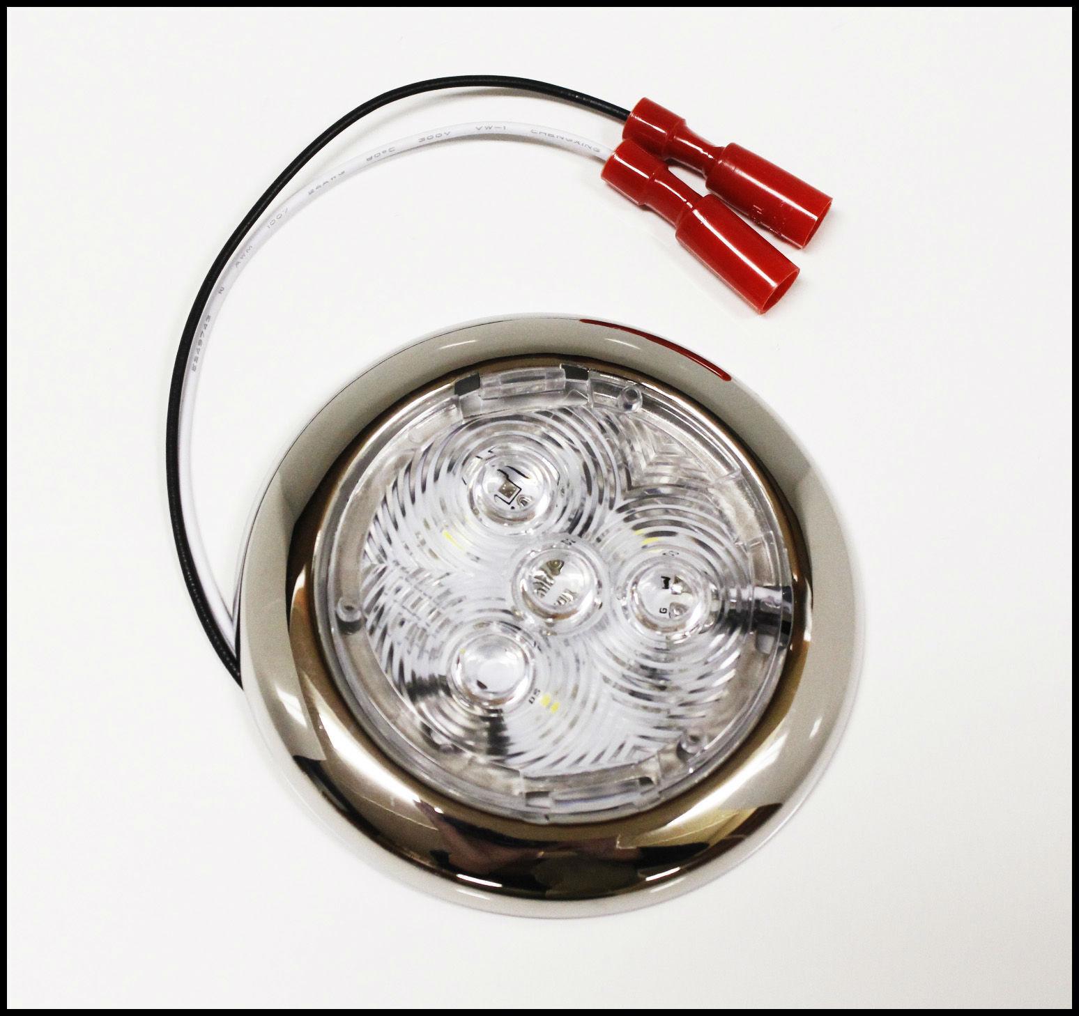 Triton 13677 Round White LED Flush Mount Light