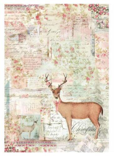 Bastelpapier Weihnachten.Bastel Künstlerbedarf 1 Reispapier Weihnachten Din A4 Bedruckte