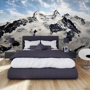 Vlies Winter mountains- Tapete Fototapeten Für Schlafzimmer FDB46