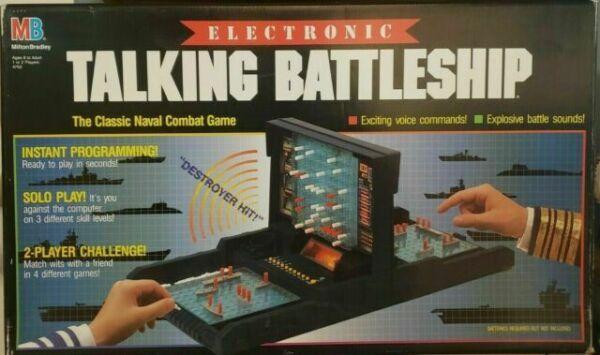 Milton Bradley Electronic Battleship Advanced Mission Game For Sale Online Ebay