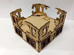 TTCombat-Sci-Fi-Scenics-Gothic-Building-with-Ruined-parts-Great-for-40k