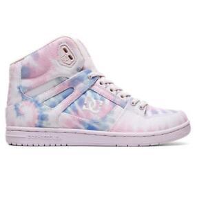 Dc Pure Ht Wc Txse Bleu Rose Chaussures De Skate-uk 4: Dégâts Boîte - 25% De Réduction!-afficher Le Titre D'origine