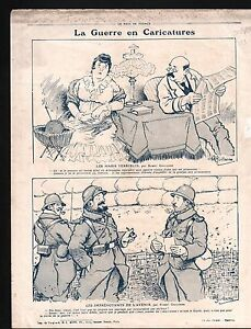 WWI-Caricature-Guerre-Poilus-Balkans-Bulgaria-Albania-Serbia-1915-ILLUSTRATION