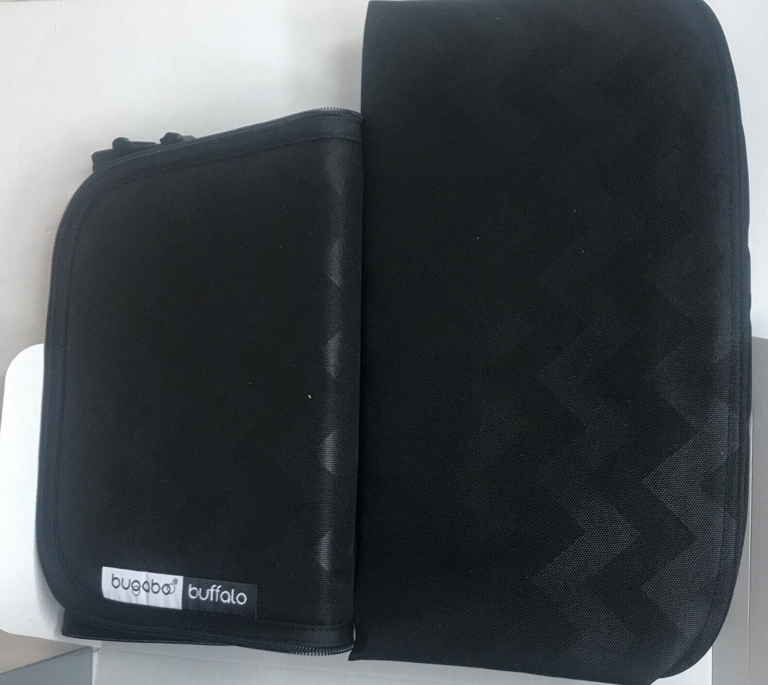 Bugaboo Fox Bassinet Tailored Fabric Set in Grey Melange