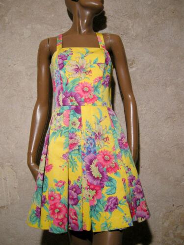 anni 70 Abito 70s Vtg 36 Jahre Vintage Kleid Siebziger 34 70er 1970 Schick wCOT8q