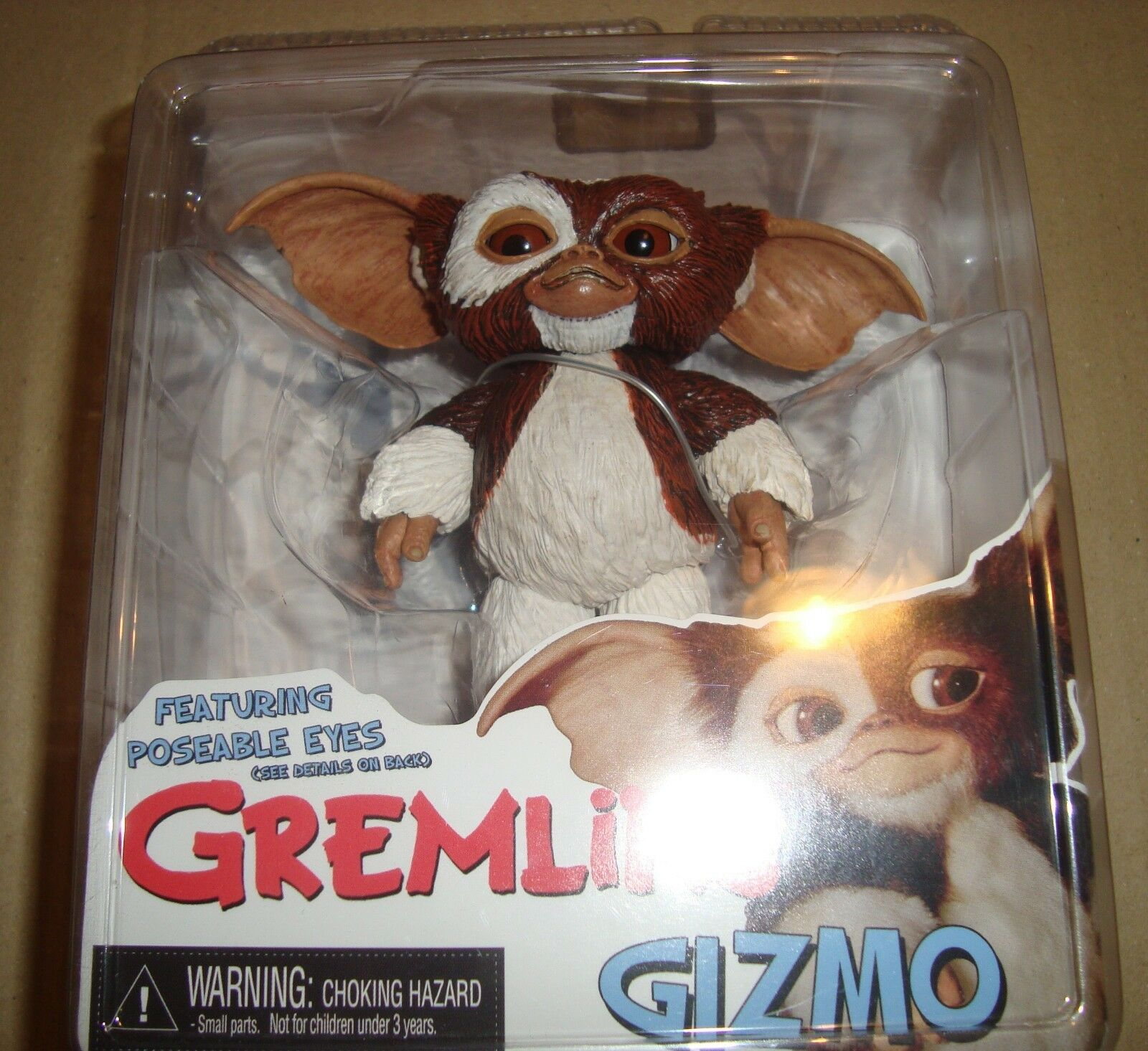 GREMLINS FEATURING POSEABLE EYES SERIES SERIES SERIES 1 GIZMO NECA 2011 2c3cdb