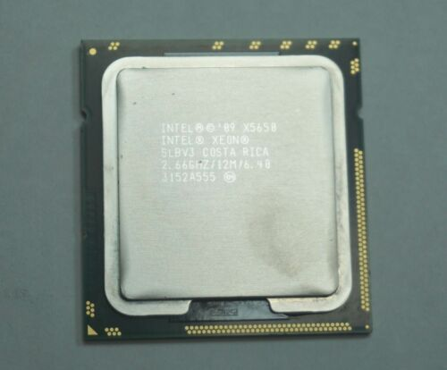 Intel Xeon X5650 SLBV3 2.66GHz Six Core LGA 1366 CPU Processor