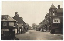 LUDGERSHALL Andover Road & View of Hotel, Old Cars, RP Postcard, Unused
