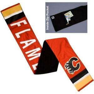 Calgary Flames Jersey Scarf (New) (Blow Out) Calgary Alberta Preview