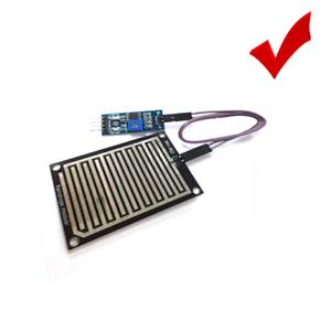 3.3V//5V Rain Water Sensor Module Humidity Raindrop Weather Control For Arduino