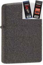 Zippo 211 iron stone cigar Lighter with *FLINT & WICK GIFT SET*