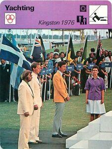 "FICHE CARD Kingston 1976 Olympic Games Sailing Racing Regatta Régates Yacht 70s - France - EBay Jeux Olympique Olympic GamesPORT EUROPE GRATUIT A PARTIR DE 4 OBJETSBUY 4 ITEMS AND EUROPE SHIPPING IS FREE FICHE FRANCE ANNEES 70s ETAT VOIR PHOTO FORMAT 16 CM X 12 CM SIZE : 6.29 "" X 4.72 "" inch FICHE SPORTYACHTING.1 - France"
