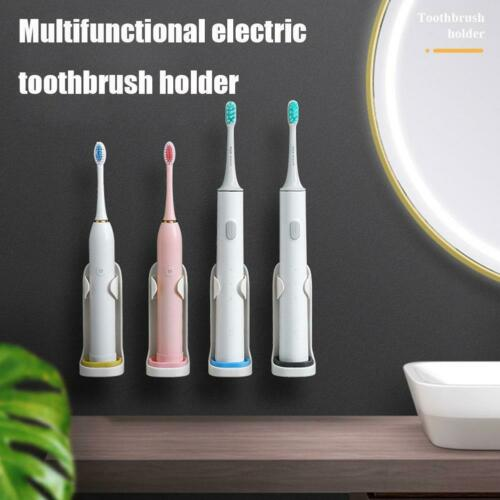 Creative Traceless Stand Rack Electric Toothbrush Organizer Wall-Mounted W6C5