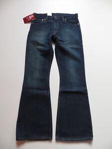 Levi-039-s-516-Schlag-Jeans-Hose-W-33-L-34-NEU-Schlaghose-mit-KULT-Waschung