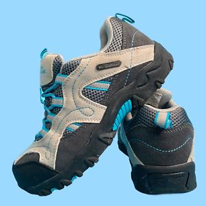 Mountain-Warehouse-meninos-Calcados-Femininos-Tamanho-3-Cinza-Trekking-botas-impermeaveis-UE-35