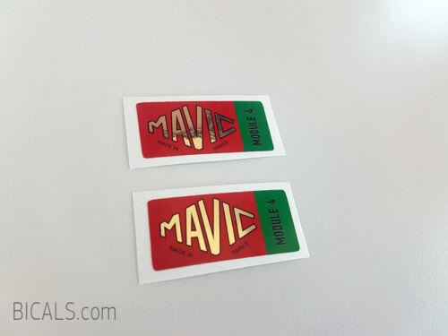 silk screen free shipping MAVIC MODULE 4  decal sticker for rims