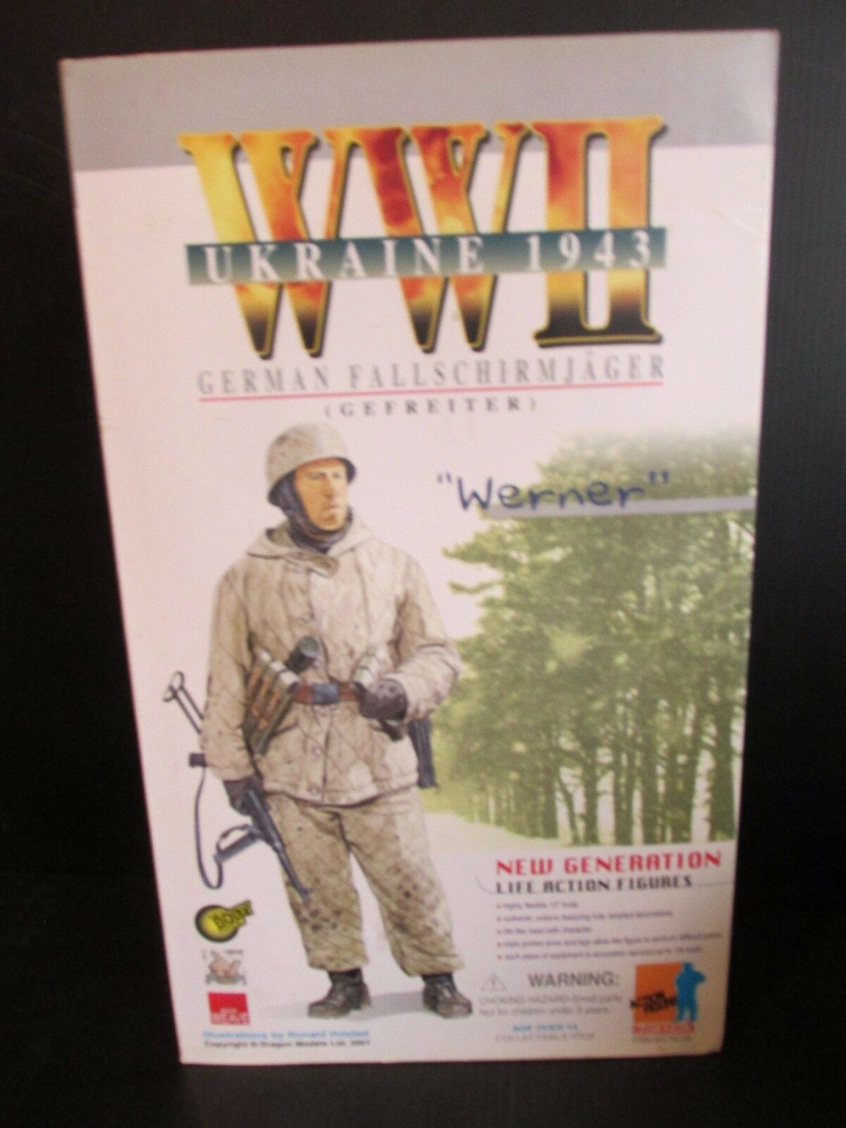 Dragon Side show 1 6TH scale figures German   WERNER .