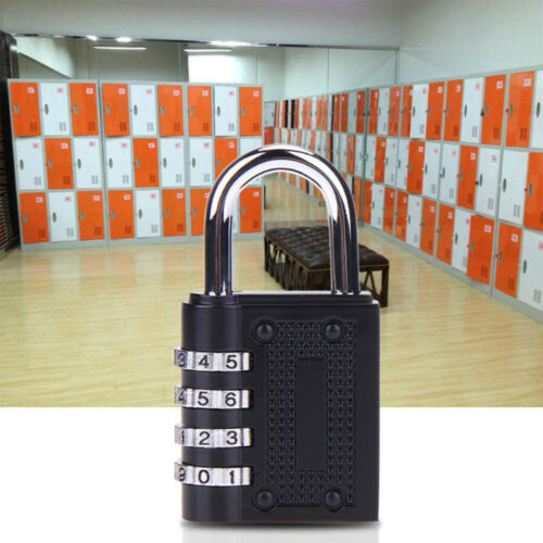 4Digit Password Padlock Security Lock Suitcase Luggage Cupboard Cabinet Locker/'