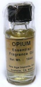 Opium Essential Oil Fragrance India Aroma Oils 10 ml & FREE SHIPPING