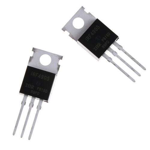 10x IRF4905 IRF4905PBF Power MOSFET 74A 55 V P Kanal WH
