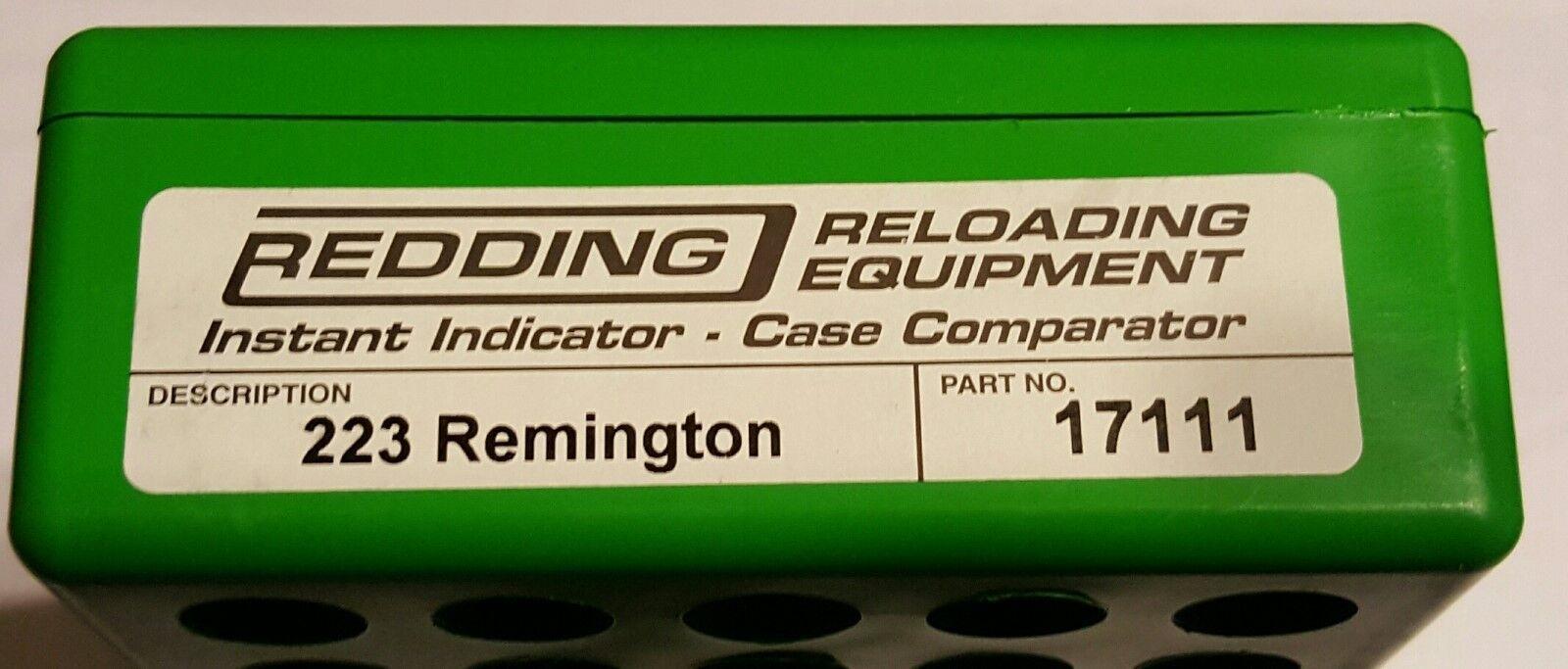 17111 rojoDING indicador instantáneo sin Dial - 223-Nueva gama Adaptador REMINGTON