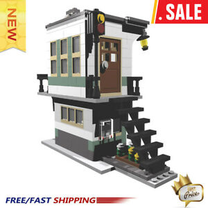 MOC-4307-31036-Railroad-Tower-City-Architecture-Set-Model-Building-Blocks-Toys