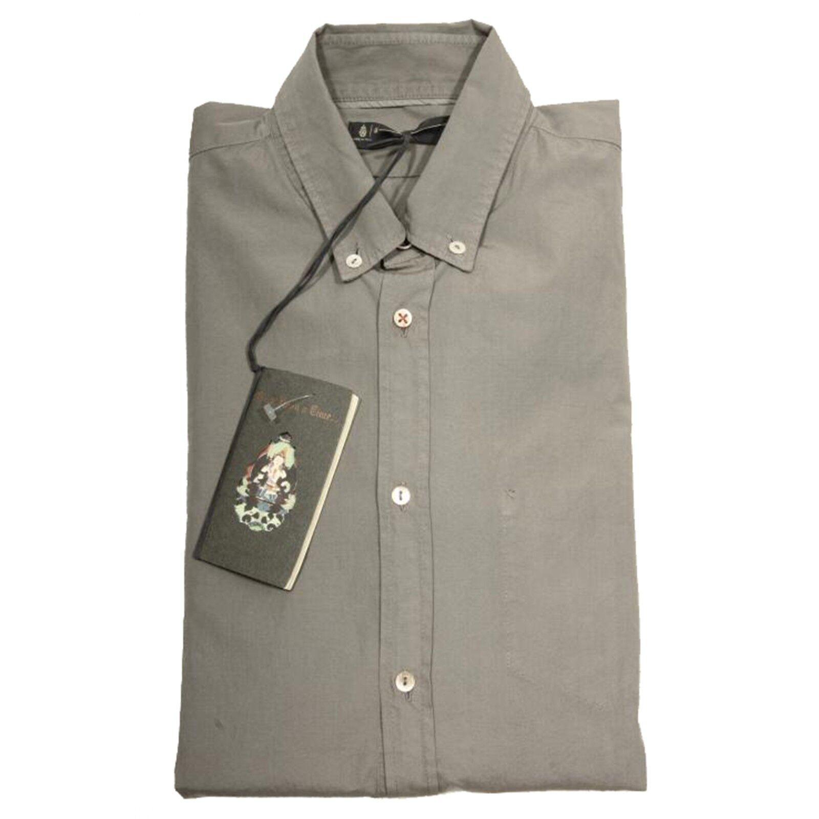 40748 camicia DONDUP camicie uomo shirt Uomo  grigia