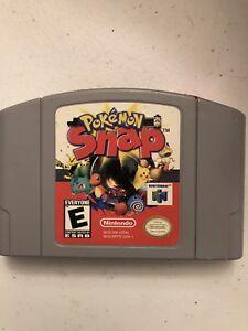 Nintendo-64-video-game-Pokemon-Snap-We-have-a-lot-Bundle-to-save-N64-Free-ship