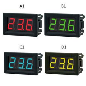 Mini DC 2.5-30V Voltmeter LED Panel 3-Digital Display Voltage Meter 2 wires Test