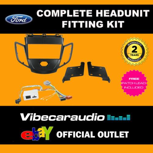 Connects 2 CTKFD 29 Ford Fiesta 2008 /> Anthracite Auto Estéreo Facia Kit de montaje