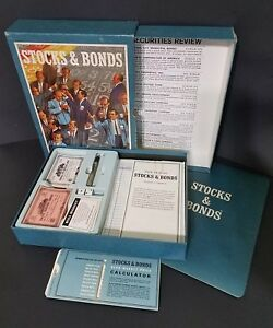 Details About 3m Company Game Stocks And Bonds Vintage 1964 Bookshelf Board Game