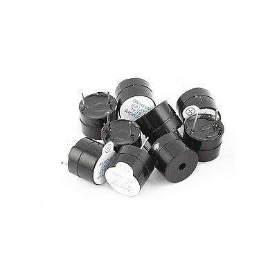 5PCS 12mm Aktiv Buzzer 3V Magnetic Long Continous Beep Tone Alarm Ringer