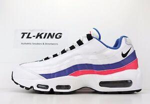 pretty nice f6ddd 8cf46 La foto se está cargando Nike-Air-Max-95-Essential-azul-ultramar-Blanco-