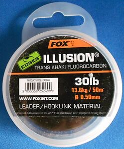 Fox Edges Hook silicones Size 6 trans kaki