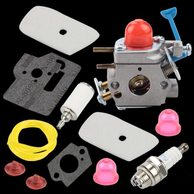 Carburetor Tune up kit Fit WeedEater Husqvarna 125LDX 125L 128LD String  Trimmer