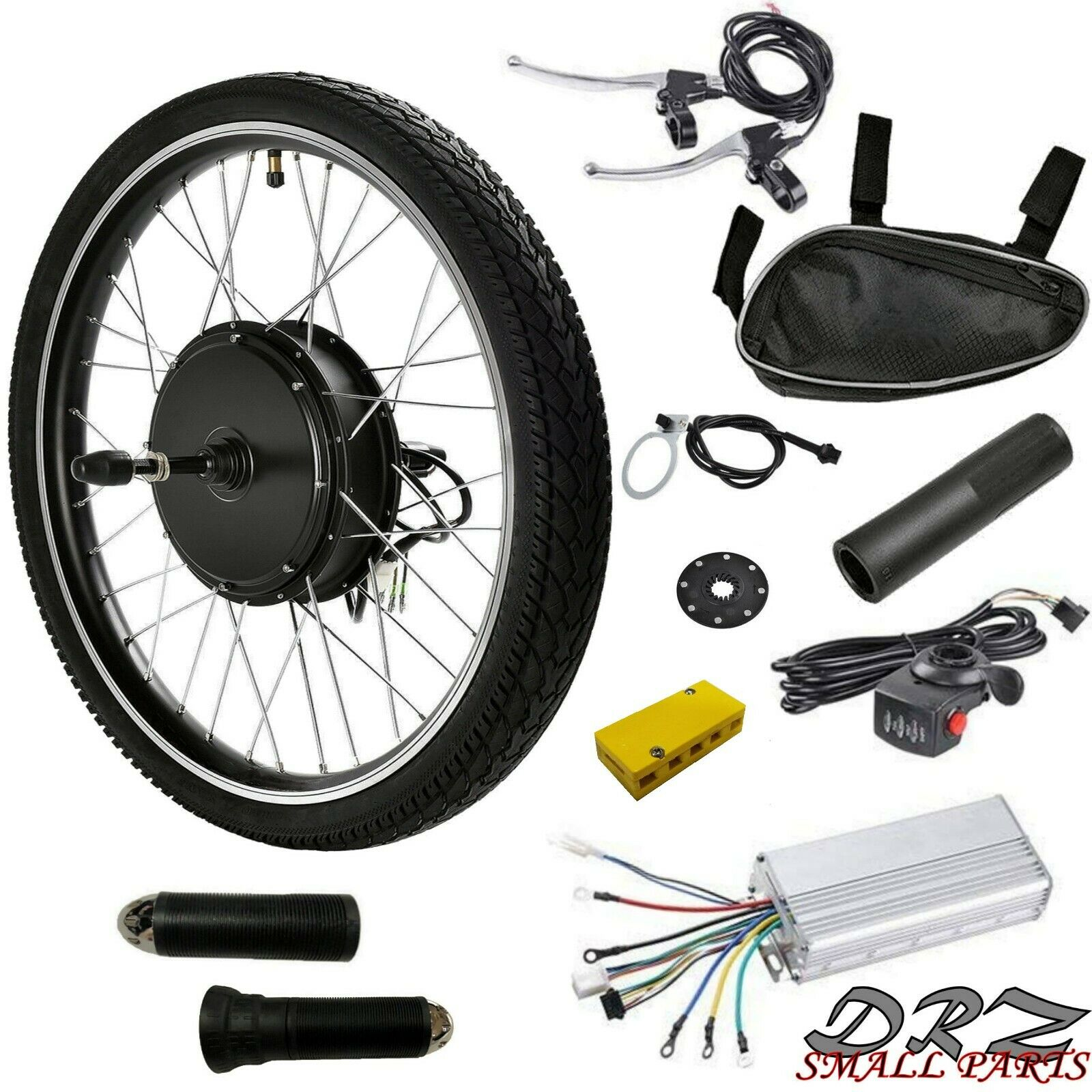 de6bc8721c1 Rear Wheel Hub 36V 500W Kit 26 in Ebike Cycle Bicycle Motor Conversion  Electric nojlwz4160-Electric Bikes