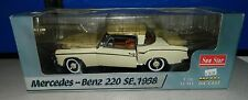 Sun Star Mercedes Benz 220 SE, 1958 1/18 Scale Off White