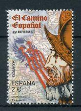 España 2017 estampillada sin montar o nunca montada español Road 450th aniversario el camino español 1v Set Sellos militar