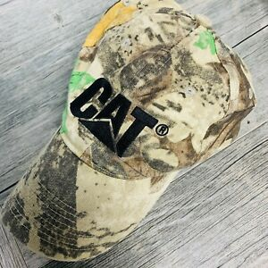 CAT-Caterpillar-Camouflage-Hat-Baseball-Cap-Tractor-Strapback-One-Size