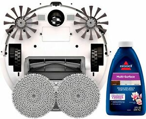 BISSELL-SpinWave-Wet-and-Dry-Robotic-Vacuum-Pearl-White