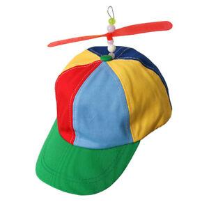 Image is loading Adult-Propeller-Hat-Clown-Costume-Accessory-Baseball-Copter - c7ecdbaa5740
