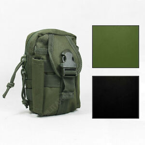 Molle Belt Utility Pouch - Colour Option Tactical Airsoft Army Military Webbing