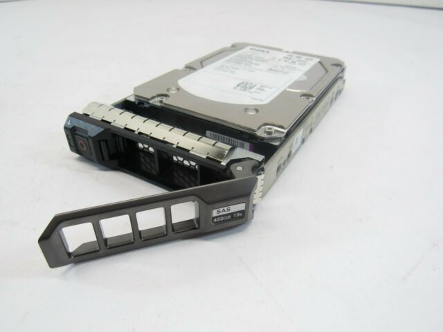 XX517 Dell 450GB 3G 15K 3.5 SAS HDD