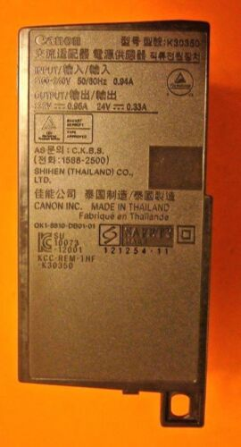 MX722 MX725 C4.11 K30350 OEM CANON AC POWER ADAPTER SUPPLY CANON PIXMA MX922