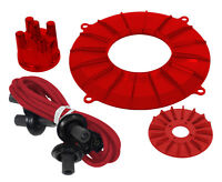 Engine Trim Kit Red Fits Vw Baja Bug Cpr119202-ba