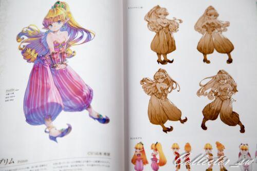 3-7 DaysSeiken Densetsu 2 Secret of Mana Guide /& Art Book Code from JP