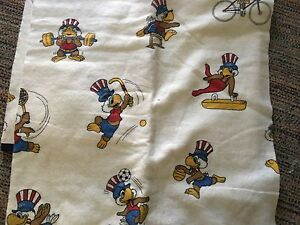 1984 Olympiques Sam Olympique Eagle Mascot Double Couverture D'Occasion 4FV6cHnA-07154810-590853631