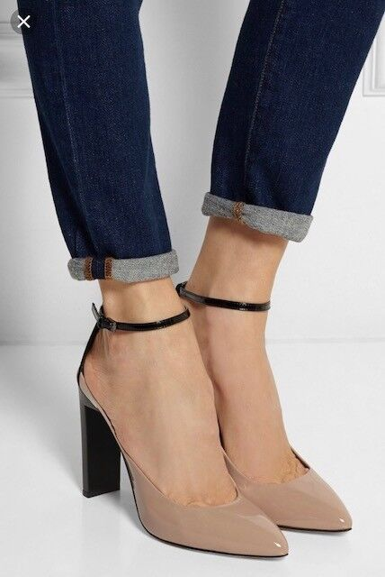 Rrot KRAKOFF KRAKOFF Rrot TWO-TONED PATENT LEATHER PUMPS Größe US11 IT42 a25807