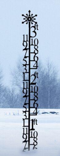 Wrought Iron Three Foot Snow Gauge and Garden Trellis