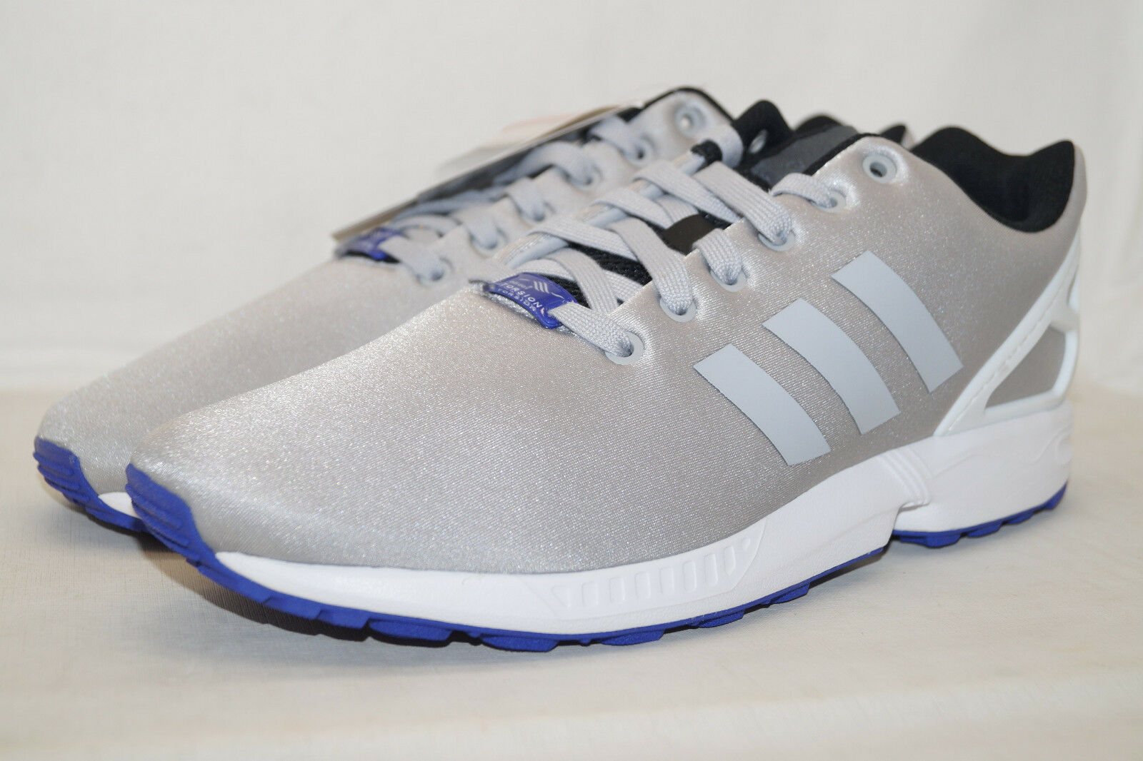 Adidas originals zx - grau, flux - torsion uk11 grau, - silber b34505 sneaker 1a535c